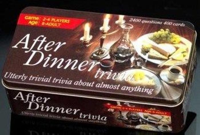 After Dinner Trivia