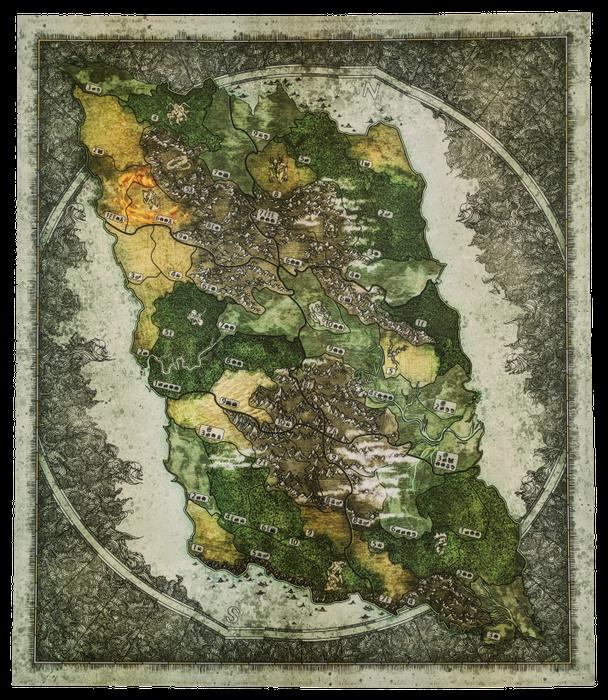 Spirit Island: Expansion Playmat