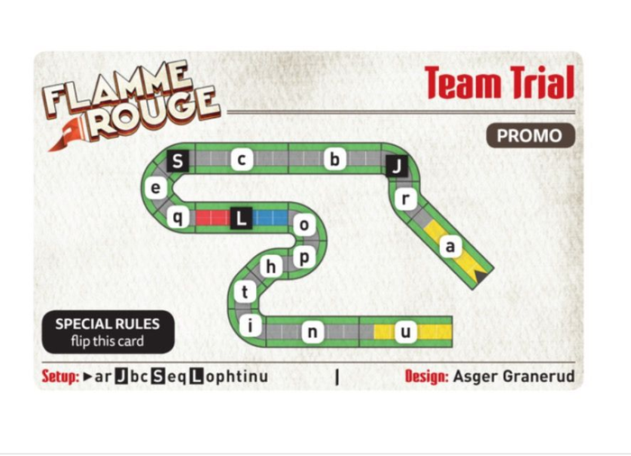 Flamme Rouge: Team Trial