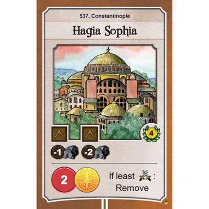 Nations: Hagia Sophia promo card