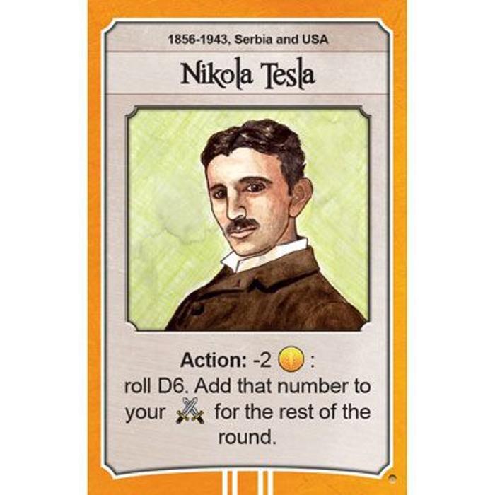 Nations: Nicola Tesla promo card