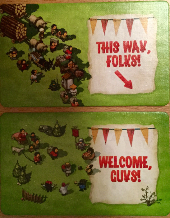 Imperial Settlers: Storage Tiles