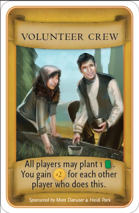 Viticulture: Kickstarter Promotional Cards