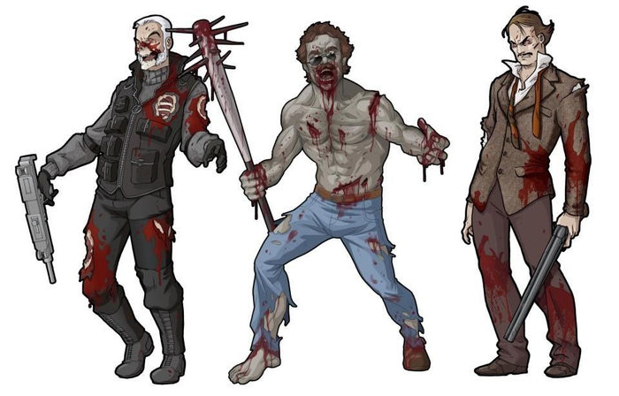Zombicide Set #4: Moustache Pack