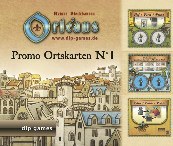 Orléans: Promo Ortskarten N°1