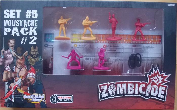 Zombicide Set #5: Moustache Pack #2