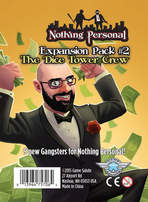 Nothing Personal Expansion Pack #2: The Dice Tower Crew