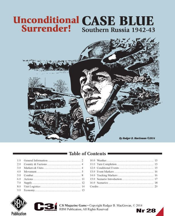Unconditional Surrender! Case Blue