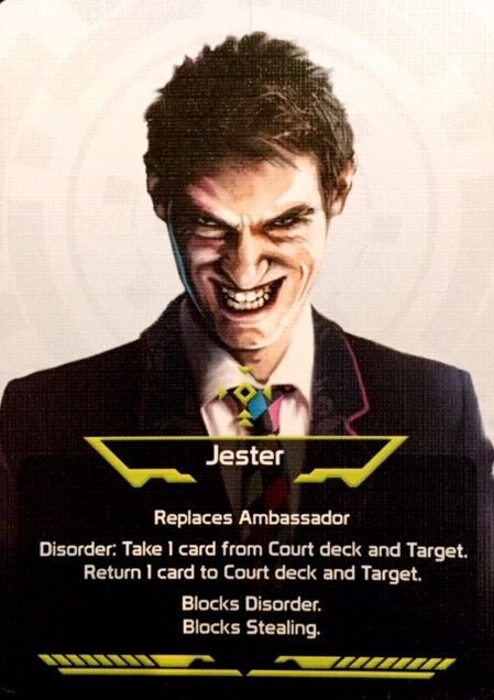 Coup: Jester and Bureaucrat Promos