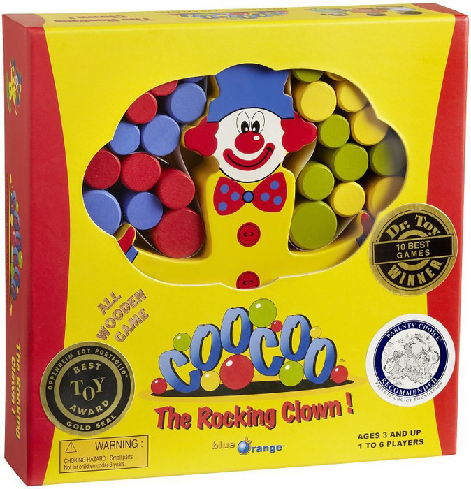 CooCoo the Rocking Clown!