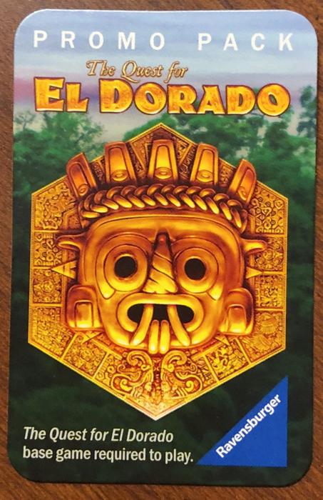The Quest for El Dorado: Promo Pack