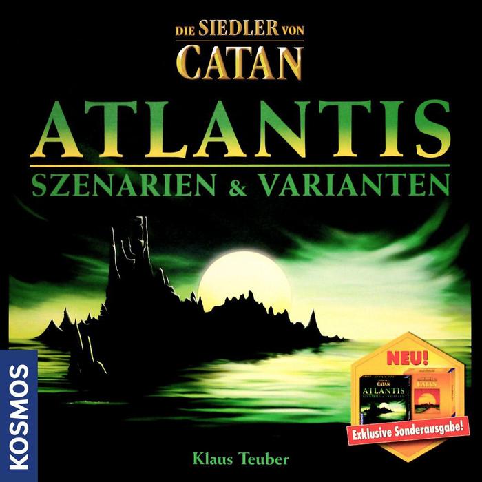 Die Siedler von Catan: Atlantis – Szenarien & Varianten