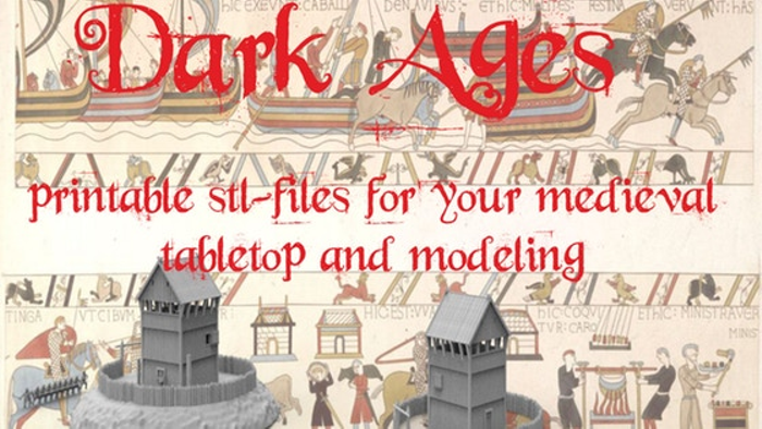 photograph relating to Printable Terrain named Darkish Ages, 3d printable terrain for tabletop Board Recreation Atlas