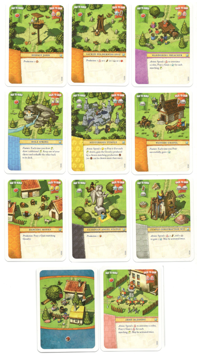Imperial Settlers: Aztecs – Common cards