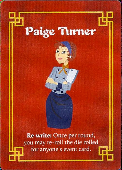 Wok Star: Paige Turner Promo Character