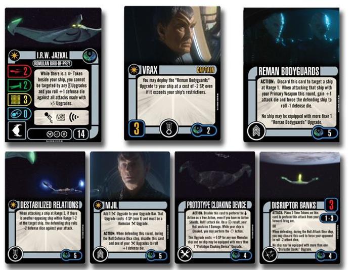 Star Trek: Attack Wing – I.R.W. Jazkal Expansion Pack