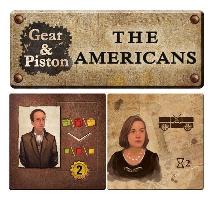 Gear & Piston: The Americans