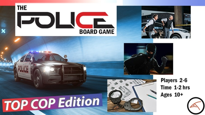 The Police Board Game - TOP COP