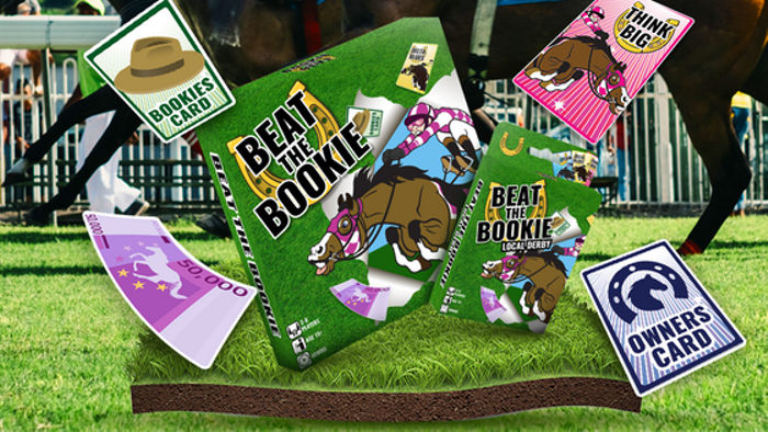 Beat The Bookie - Horse Racing Board Game and Card Game