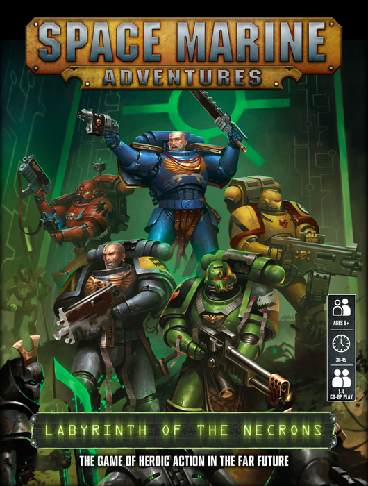 Space Marine Adventures: Labyrinth of the Necrons