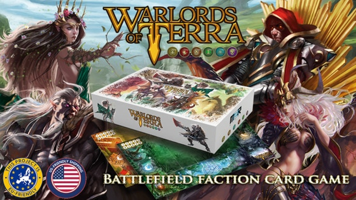 Warlords of Terra - The Battlefield Faction Card Game