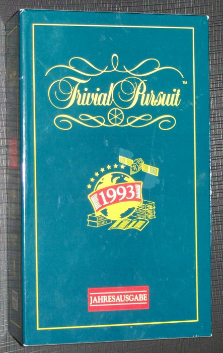 Trivial Pursuit: The Year in Review – Questions about 1993