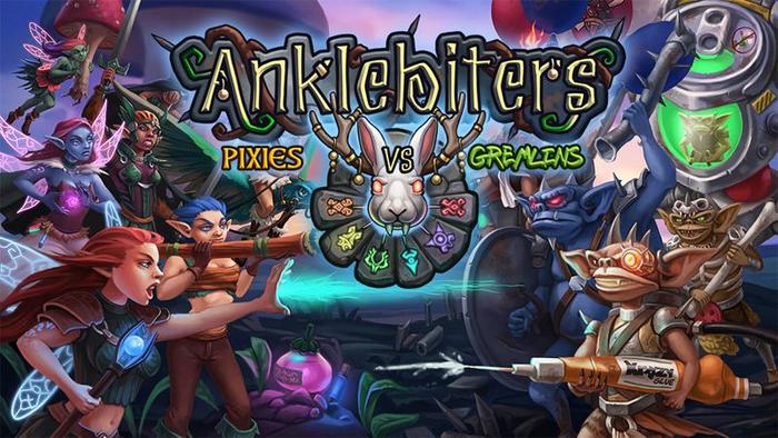Anklebiters: Pixies VS Gremlins