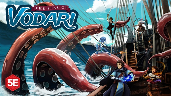 The Seas of Vodari - 5th Edition Swashbuckling & Sorcery