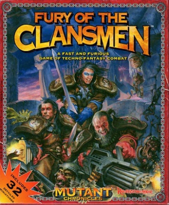 Fury of the Clansmen