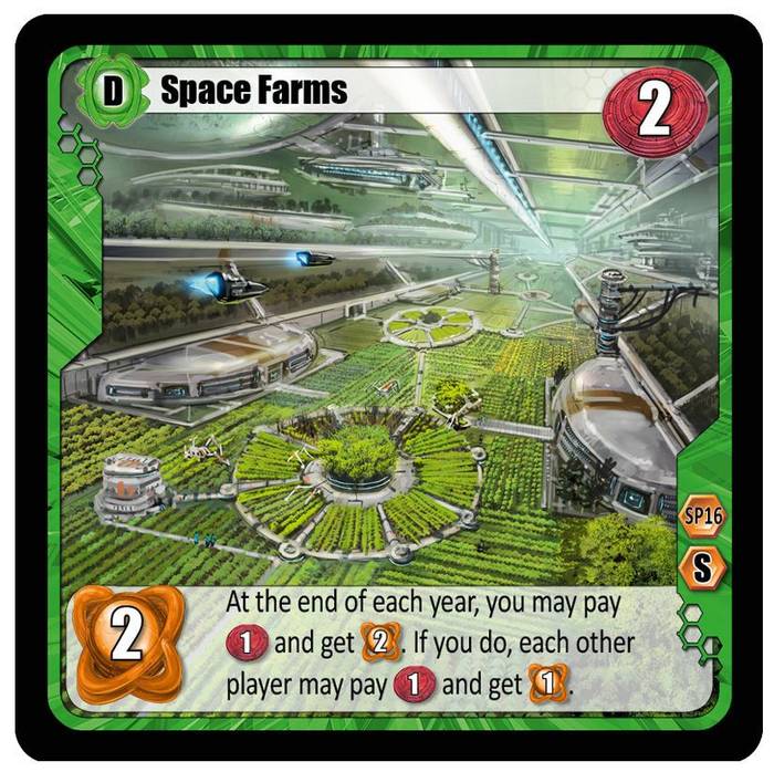 Among the Stars: Space Farms