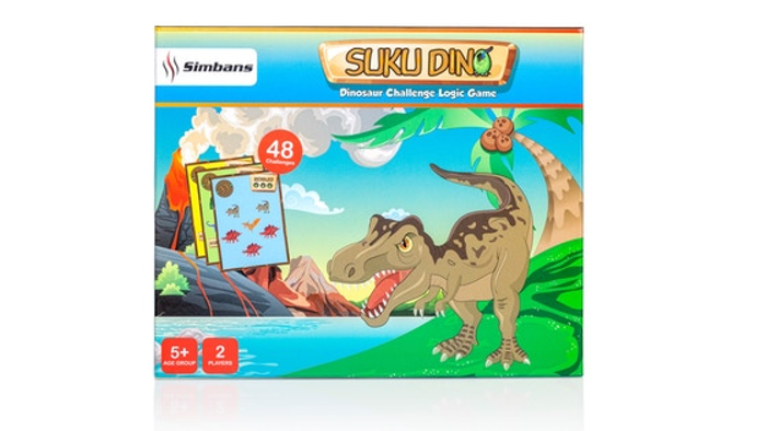 Suku Dino - Dinosaur Board Game