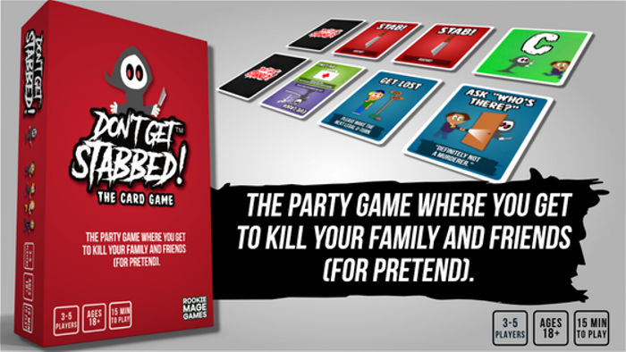DON'T GET STABBED! The Card Game