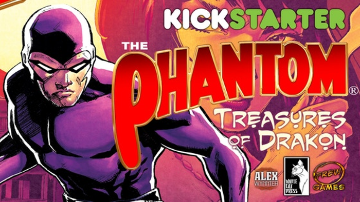 The Phantom: Treasures of Drakon board game