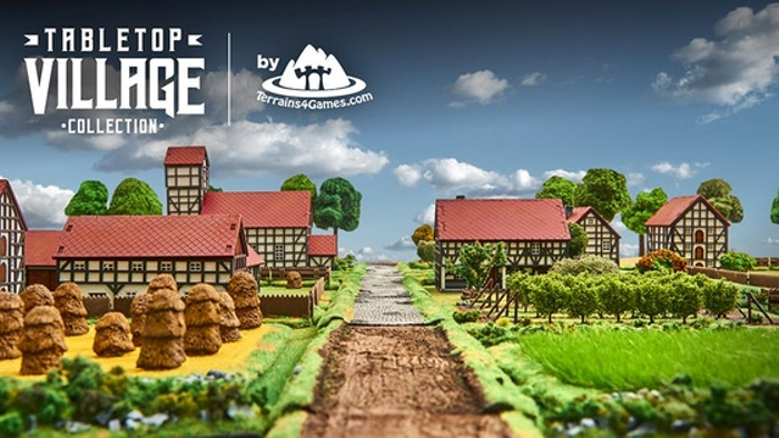 TABLETOP VILLAGE Collection by Terrains4Games