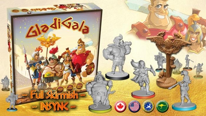 GladiGala: a 2-4 player full skirmish INSYNC party