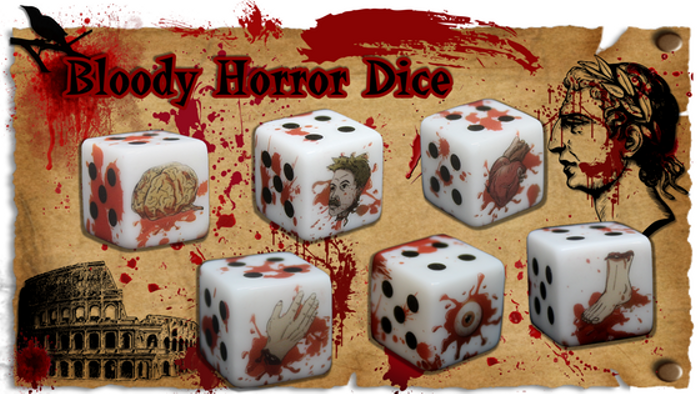 Bloody Horror Dice