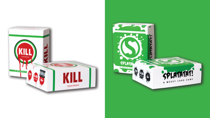 Kill Your Friends - A Bloody Card Game