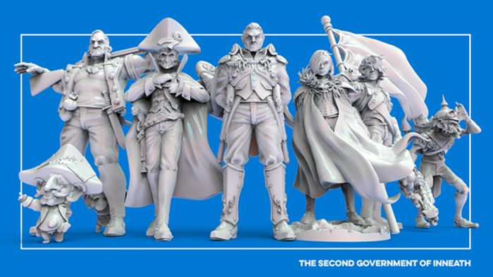 Miniatures of the Second Government of Inneath