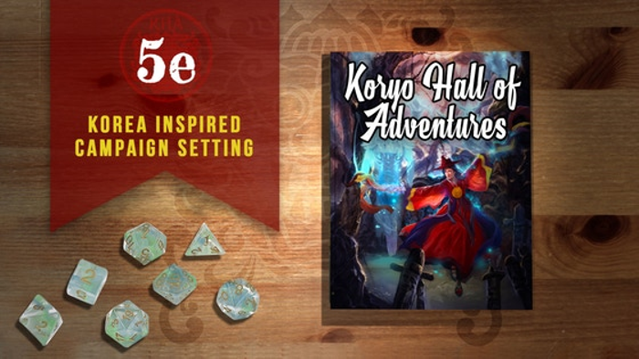 The Koryo Hall of Adventures 5e Compatible Campaign Setting