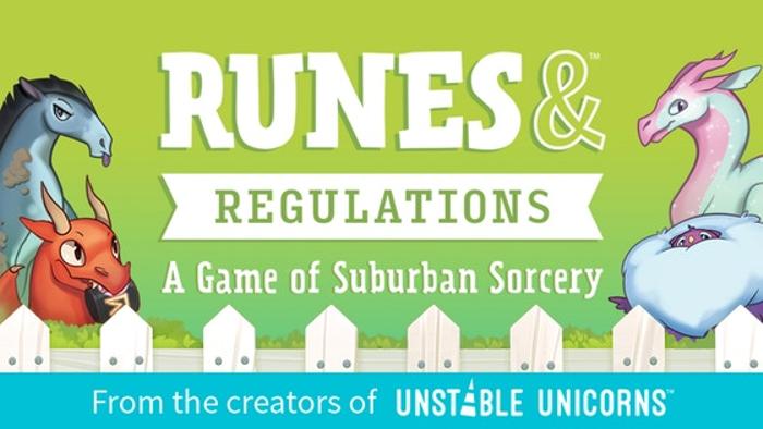 Runes & Regulations: A Game of Suburban Sorcery