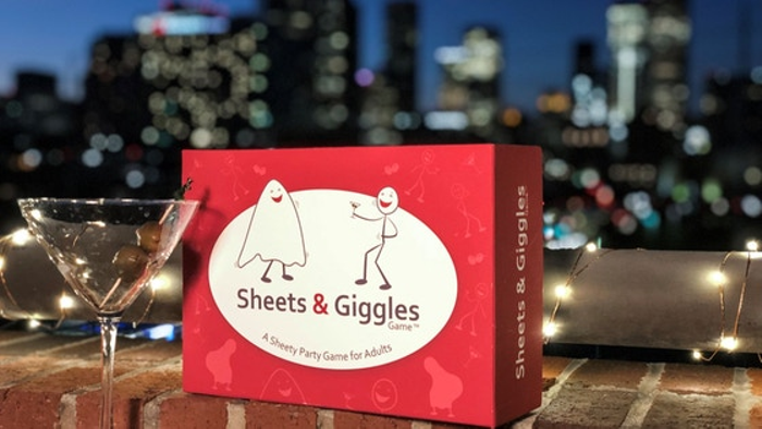 The Sheets & Giggles Game - A Party Game for Adults