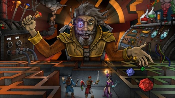 Maximum Mayhem Dungeons #6: Moving Maze of the Mad Master