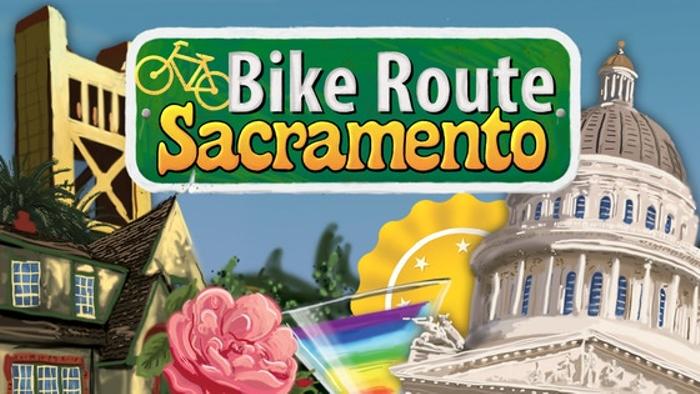 Bike Route Sacramento