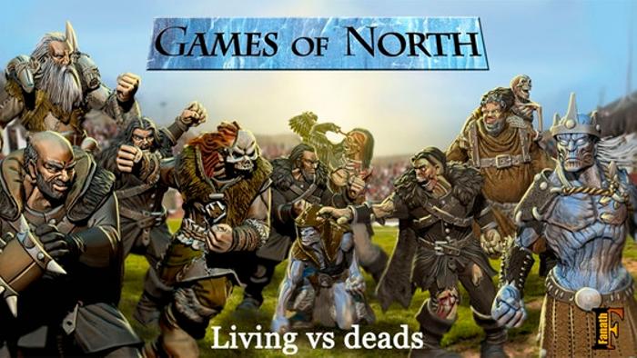 GAMES of NORTH - Football fantasy