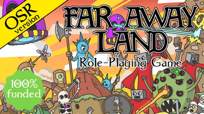 Far Away Land Old School Role-Playing Game