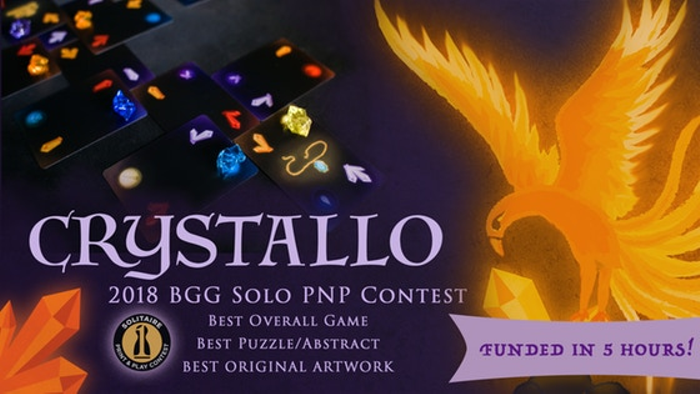 CRYSTALLO: the award-winning solitaire puzzle game