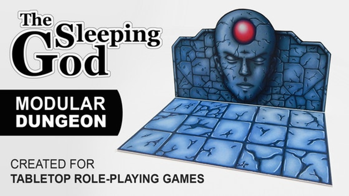 The Sleeping God | Modular Dungeon for Tabletop RPGs