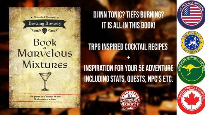 Gnimsh & Gnumsh's Book of Marvelous Mixtures (DnD 5e)