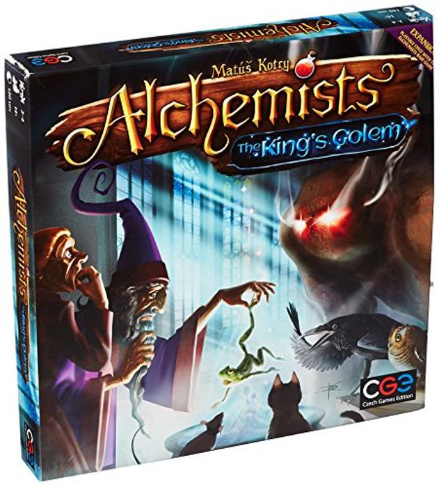 Alchemists: King's Golem Expansion