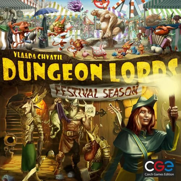 Dungeon Lords: Festival Season Expansion